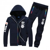 Adidas Kit Sport - Blanc/Bleu Pas Cher Marseille