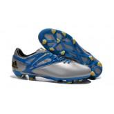 Adidas Messi 15.1 Fg / Ag - Argent Bleu Rabais