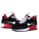 Air Max 90 Sneakerboot Noir Rouge Shop France