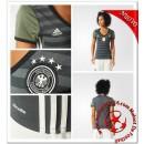 Allemagne Maillot Foot Femme Extérieur Coupe Euro 2016