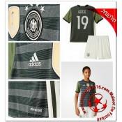 Allemagne Maillot Foot Gotze Enfant Kits Extérieur Coupe Euro 2016