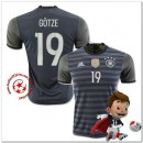 Allemagne Maillot Foot Gotze Extérieur Coupe Euro 2016