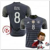 Allemagne Maillot Foot Ozil Extérieur Coupe Euro 2016