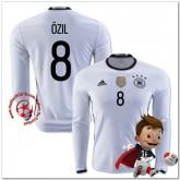 Allemagne Maillot Ozil Domicile Manche Longue Coupe Euro 2016