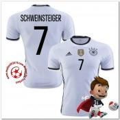 Allemagne Maillot Schweinsteiger Domicile Coupe Euro 2016
