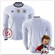 Allemagne Maillots De Foot Domicile Manche Longue Coupe Euro 2016