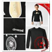 Allemagne Maillots De Foot Enfant Kits Domicile Manche Longue Gardien Coupe Euro 2016