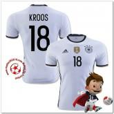 Allemagne Maillots De Foot Kroos Domicile Coupe Euro 2016
