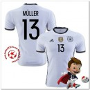 Allemagne Maillots De Foot Muller Domicile Coupe Euro 2016