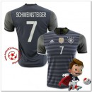 Allemagne Maillots De Foot Schweinsteiger Extérieur Coupe Euro 2016
