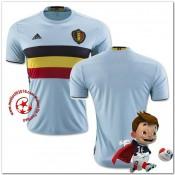 Belgique Maillots De Foot Extérieur Coupe Euro 2016