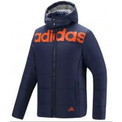 Coton Manteau Adidas 2016 - Bleu Boutique Paris