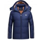 Coton Manteau Adidas 2016 - Bleu Foncé Site Francais