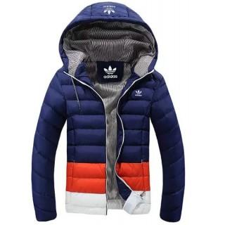 Coton Manteau Adidas 2016 - Bleu/Rouge/Blanc Site Officiel