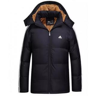 Coton Manteau Adidas 2016 - Noir 2 Prix