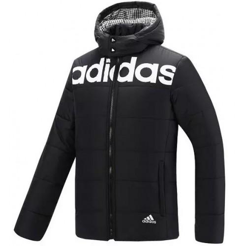 Adidas Coton 2016 Fashion Noir Manteau F54q7wv