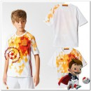 Espagne Maillots De Foot Enfant Kits Extérieur Coupe Euro 2016