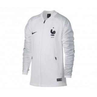 great fit latest fashion official site Veste Nike France FFF Anthem Blanc Junior