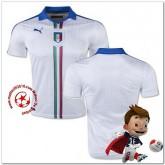 Italie Maillot Extérieur Coupe Euro 2016