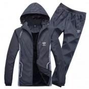 Kit Sport Adidas - Gris Foncé Faire Une Remise