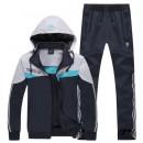 Kit Sport Adidas - Gris/Noir Escompte