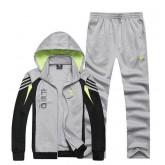 Kit Sport Adidas - Gris/Noir/Vert Livraison Gratuite