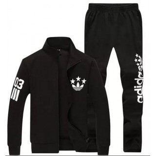 Kit Sport Adidas - Noir/Blanc La Vente ? Bas Prix