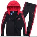 Kit Sport Adidas - Rouge/Noir Soldes