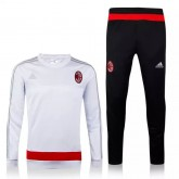 Kit Training D'Ac Milan 2015/2016 - Blanc Et Noir Ventes Privees