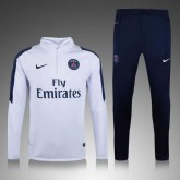 Kit Training De Psg 2015/2016 - Blanc Et Bleu France Magasin