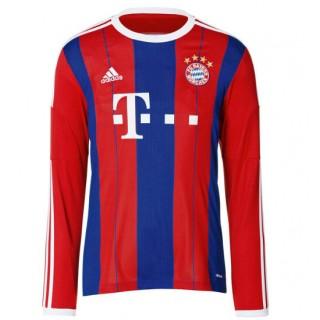 Maillot Bayern Munich Manches Longue 2015/16 Domicile France Métropolitaine