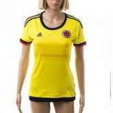 Maillot Colombie 2015 Femme Domicile Nice
