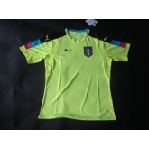 Maillot De Portier D'Italie Uefa Europe 2016 - Vert Collection