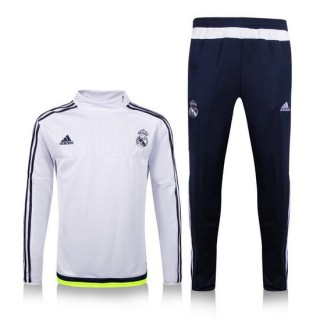 Maillot Entrainement Real Madrid 2015/2016 - Blanc [02] Code Promo