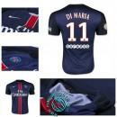 Maillot Foot (Di Maria 11) Paris Saint Germain 2015-2016 Domicile