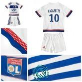 Maillot Foot (Lacazette 10) Olympique Lyonnais Enfant Kits 2015/2016 Domicile