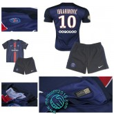 Maillot (Ibrahimovic 10) Paris Saint Germain Enfant Kits 2015 2016 Domicile