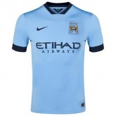 Maillot Manchester City 2015/16 - Domicile Rabais Paris