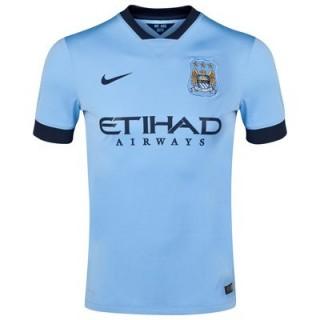 Maillot Manchester City 2015/16 - Domicile Rabais Paris