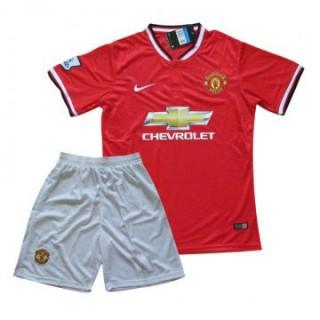Maillot Manchester United Enfant 2015/16 Domicile Pas Chere