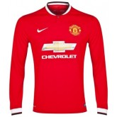 Maillot Manchester United Manches Longue 2015/16 Domicile Europe