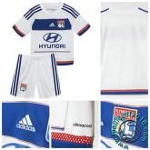 Maillot Olympique Lyonnais Enfant Kits Domicile 2015-16