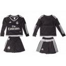 Maillot Real Madrid Enfant Domicile 15-16 Ml - Noir Vendre ? Des Prix Bas