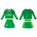 Maillot Real Madrid Enfant Domicile 15-16 Ml - Vert Nouveau