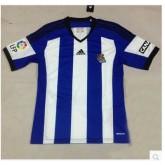 Maillot Real Sociedad 2015/16 Domicile Magasin Lyon