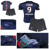 Maillots (Cavani 9) Paris Saint Germain Enfant Kits 2015-2016 Domicile
