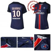 Maillots Psg Ibrahimovic Femme Domicile 2015-2016