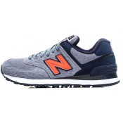 "New Balance 574 Bleu - Nior ""N"" Logo Vente Privee"