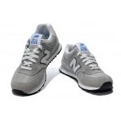 "New Balance 574 Gris - Blanc ""N"" Nice"