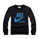 """Pull Nike Noir - Blue Logo """"Nike"""" Pas Cher Nice"""